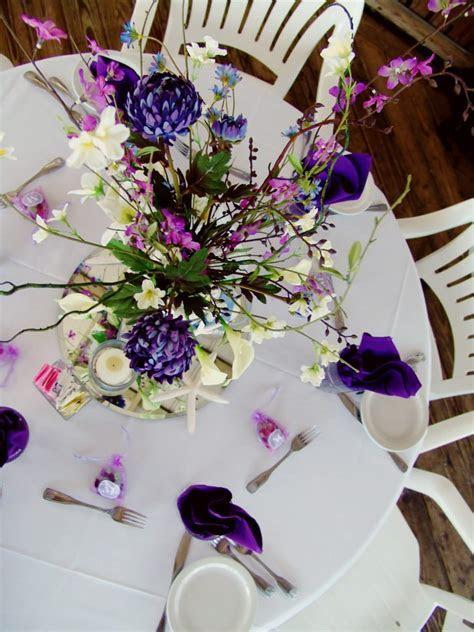 Purple & Lavender Beach Wedding