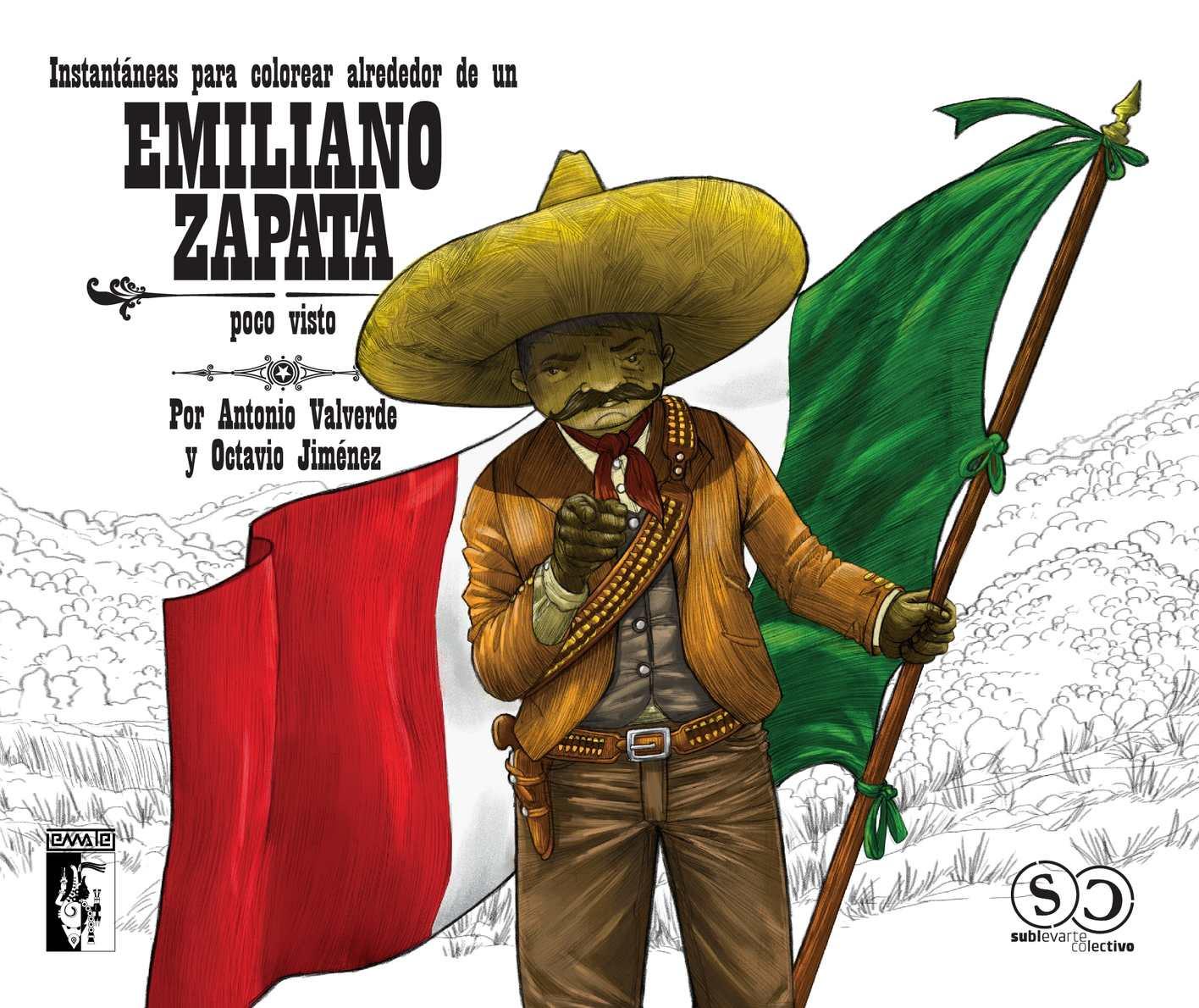 Calaméo Instantaneas Para Colorear Alrededor De Un Emiliano Zapata