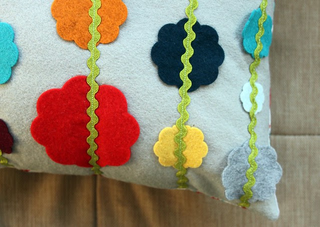 Christmas Garland Pillow