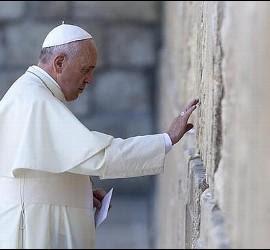 El Papa y el Muro de las Lamentaciones