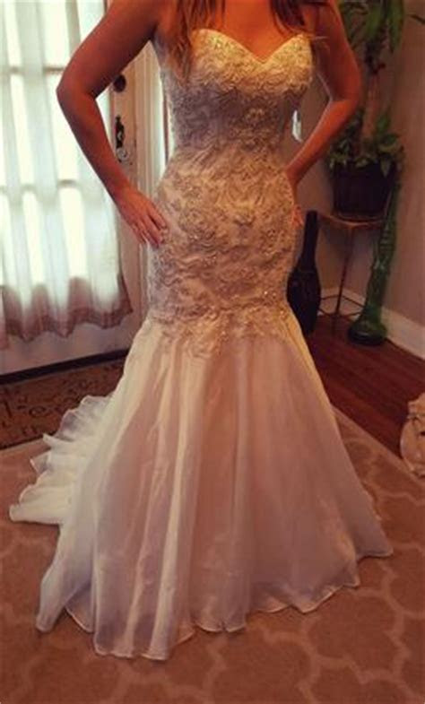 Maggie Sottero Divina, $1,200 Size: 4   New (Un Altered