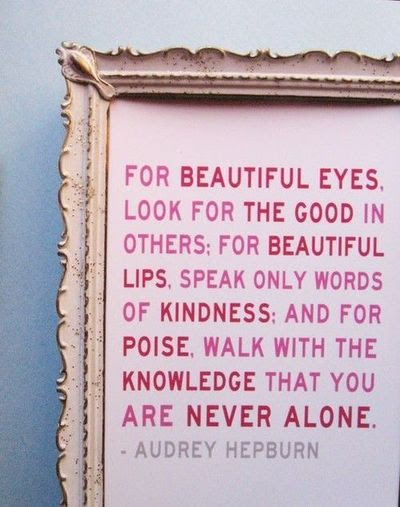 Audrey Is A Beautiful Person Inside Out Inspiring Quotes And