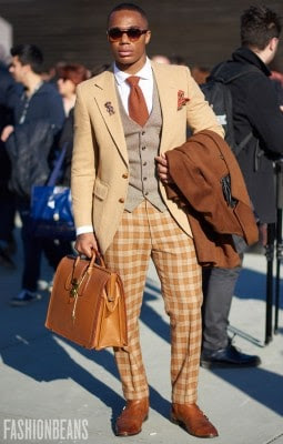 Anonymous, Photographed in Pitti Uomo<br/> Click Photo To See More