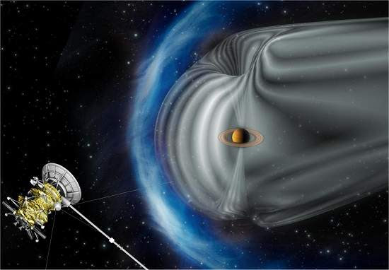 Descoberto acelerador de partículas natural ao redor de Saturno