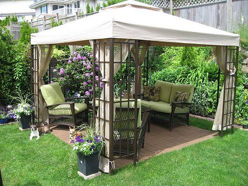 Small Backyard Ideas With Gazebo