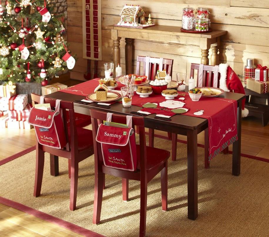 24 Superb Christmas Dining Decor Ideas