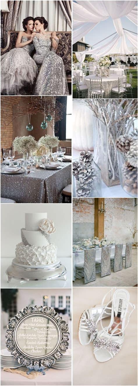 Best 25  Silver weddings ideas on Pinterest   White silver
