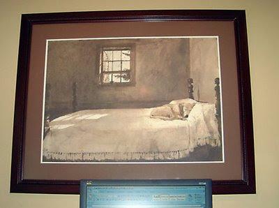 andrew wyeth dog painting