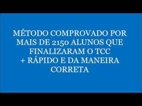 CURSO A FÓRMULA DO TCC