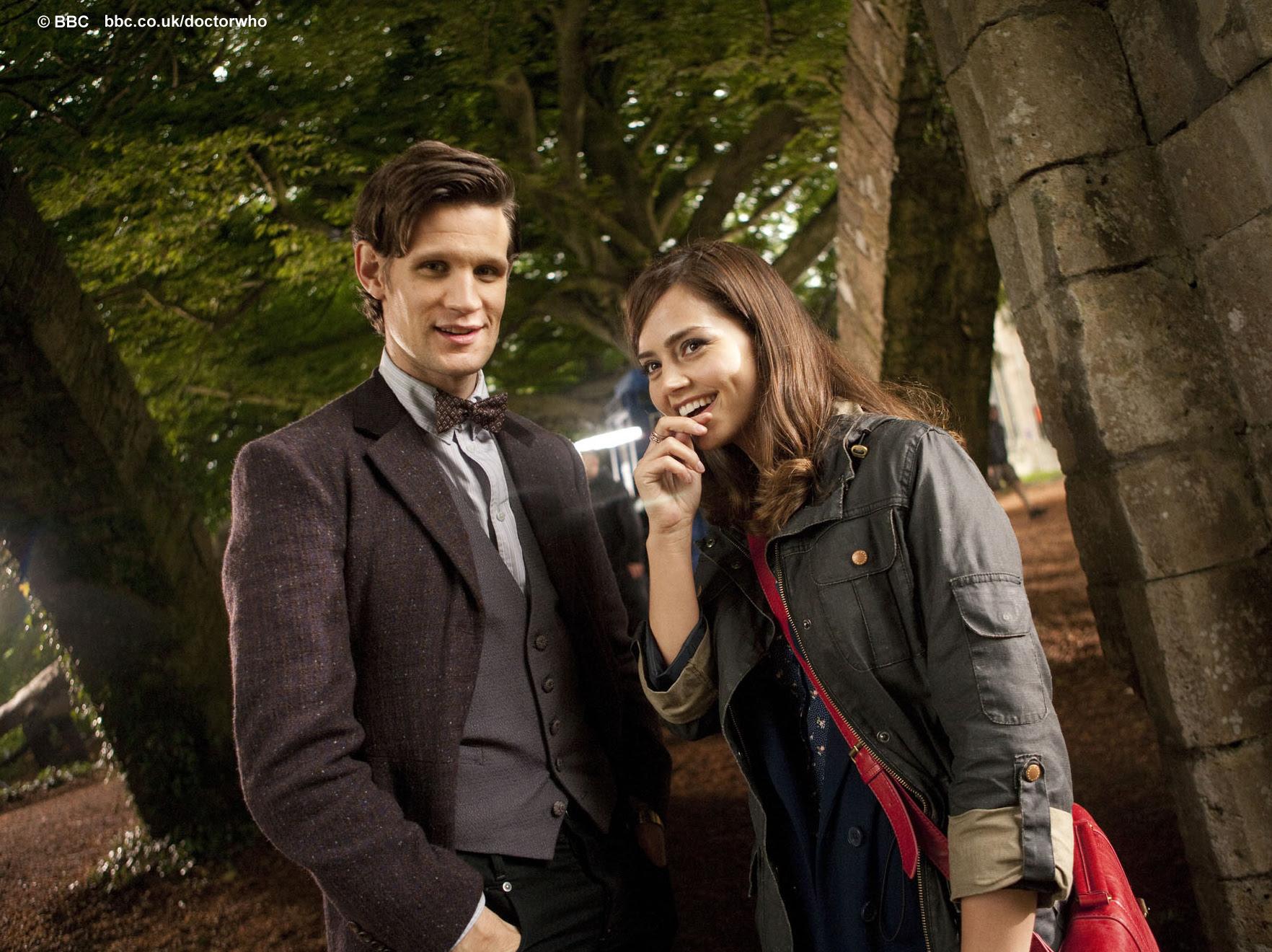 Bbc Latest News Doctor Who Matt Smith And Jenna Louise Coleman