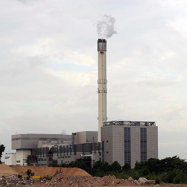 Planta de incineración de Darmstadt (Hesse, Alemania)