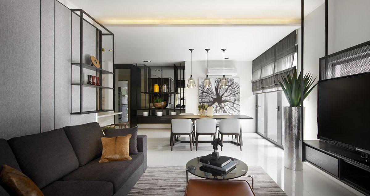 Modern Townhouse in Kuala Lumpur, Malaysia - The Residences Kuala Lumpur Maßgeschneiderte Interior Designs