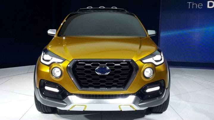 datsun go cross india launch date, price, images