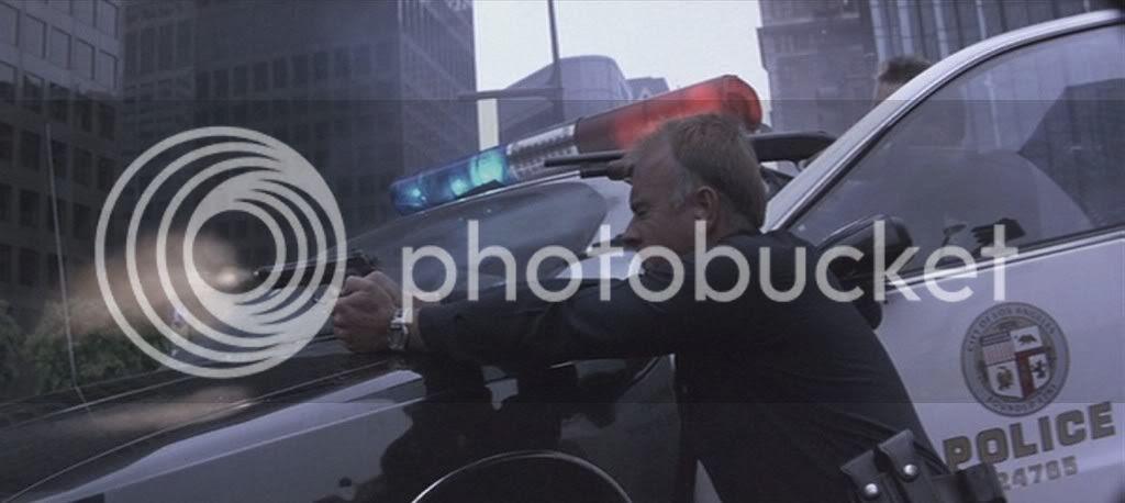 Cop with Beretta 92F