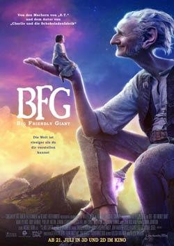 BFG - Big Friendly Giant Filmplakat