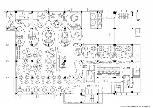 Jardin de Jade Restaurant I / P A L Design Consultants | ArchDaily