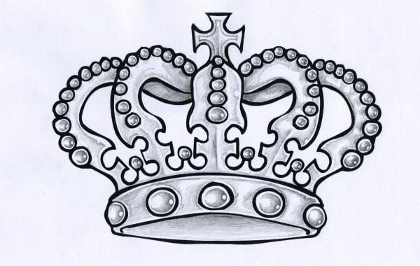 Celtic Crown Tattoo Design