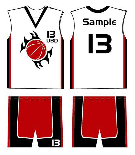 clubs logo jersey design ubd basketball club