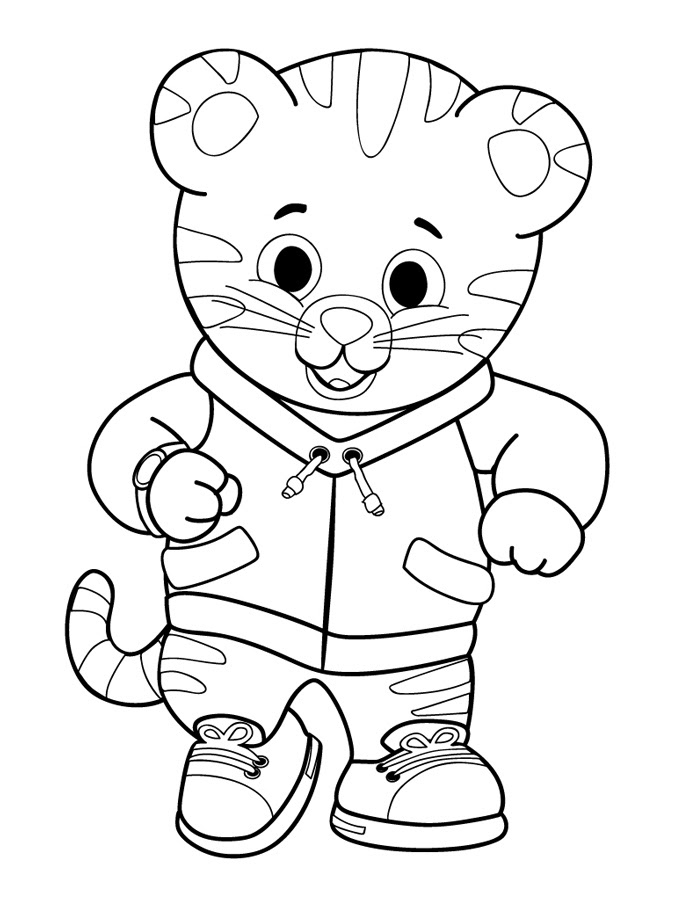 Free Printable Daniel Tiger Coloring Pages Online
