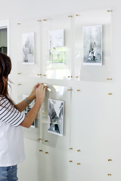 Use Glass Frames Gallery Wall Inspiration For Your Home Livingly