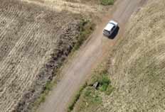 De helicóptero, policiais fizeram acompanhamento do veículo em fuga - Fotos PRF, Divulgação