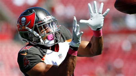 Tampa Bay Buccaneers wide receiver Cecil Shorts III gets