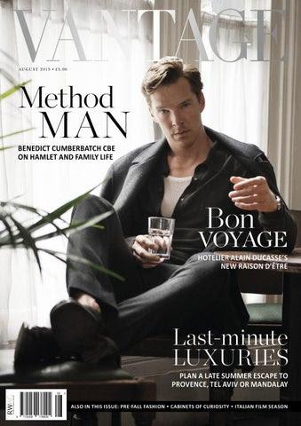 Vantage Magazine August 2015 cover