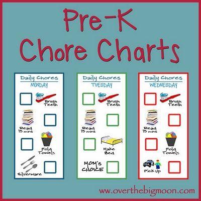 1000+ images about Chore Chart on Pinterest | Chore chart kids ...