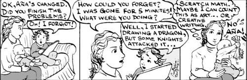 Home Spun comic strip #159