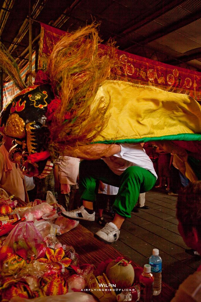 獅子上桌 @ 霞海城隍廟