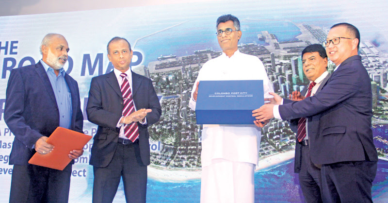 Proposed Colombo Port City Development Project Masterplan, DCR presented