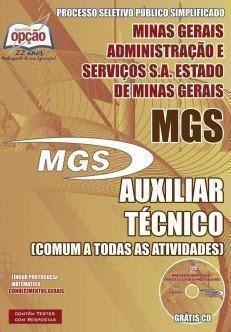 Apostila MGS 2015 - Auxiliar Técnico e Auxiliar.