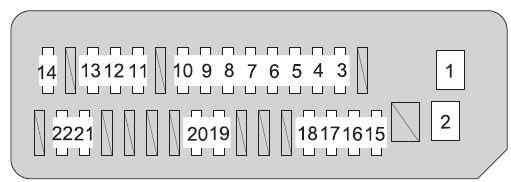Toyota Prius Xw20 2008 2009 Fuse Box Diagram Auto Genius