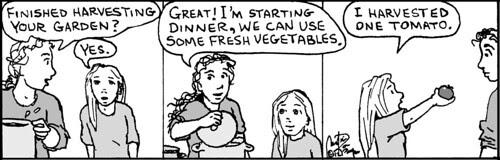 Home Spun comic strip #769