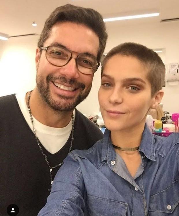 Isabella Santoni com Fernando Torquatto (Foto: Reprodução/Instagram)