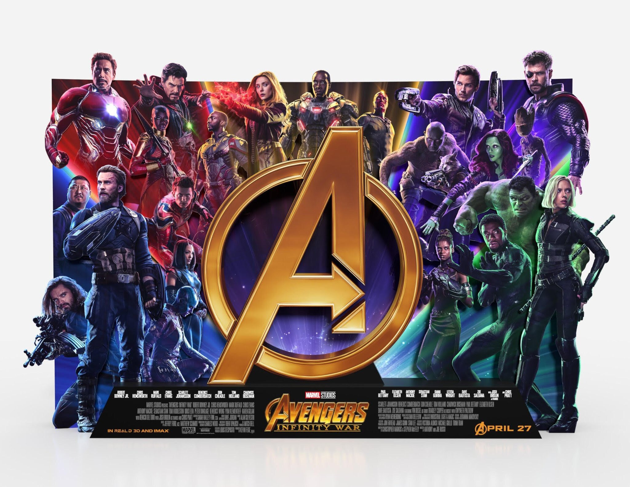 Avengers: Infinity War (2018) English with Behind The Scenes