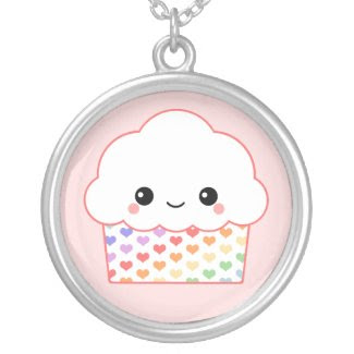 Kawaii Cupcake Custom Jewelry