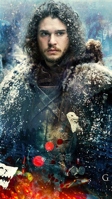 game  thrones season  jon snow  wallpapers hd