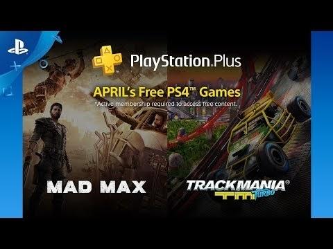 PlayStation Plus members in April 2018
