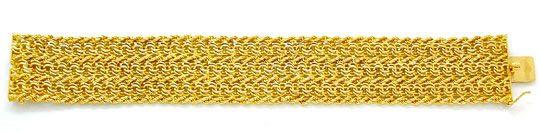 Foto 2, Designer Garibaldi Kordel Armband 18K/750 Luxus! Neuw.!, K2867