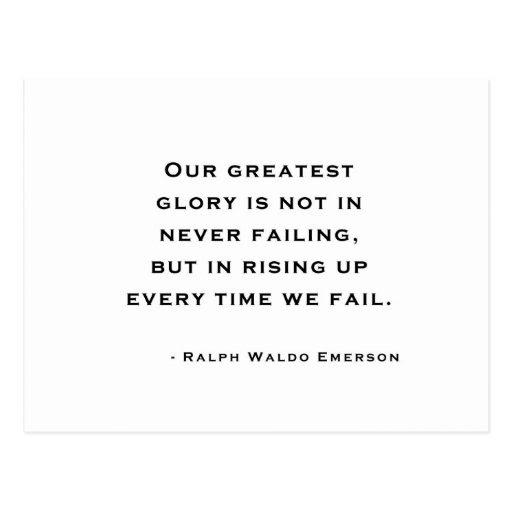 Success Ralph Waldo Emerson Framed Daily Inspiration Quotes