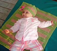 handknit baby layette