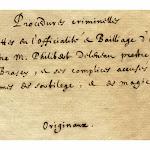 Bourgogne - Sorcellerie. Brazey-en-Morvan : un curé pendu puis brûlé