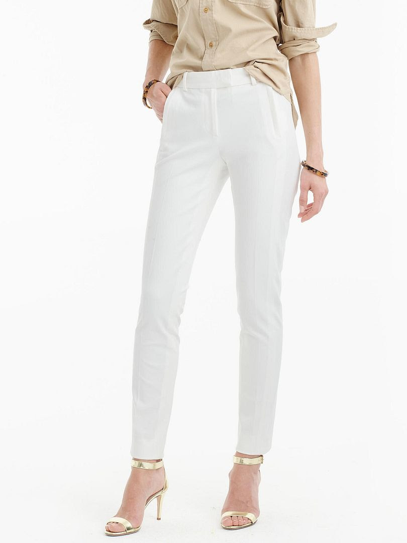 J.Crew Maddie Pant in Stretch Cotton