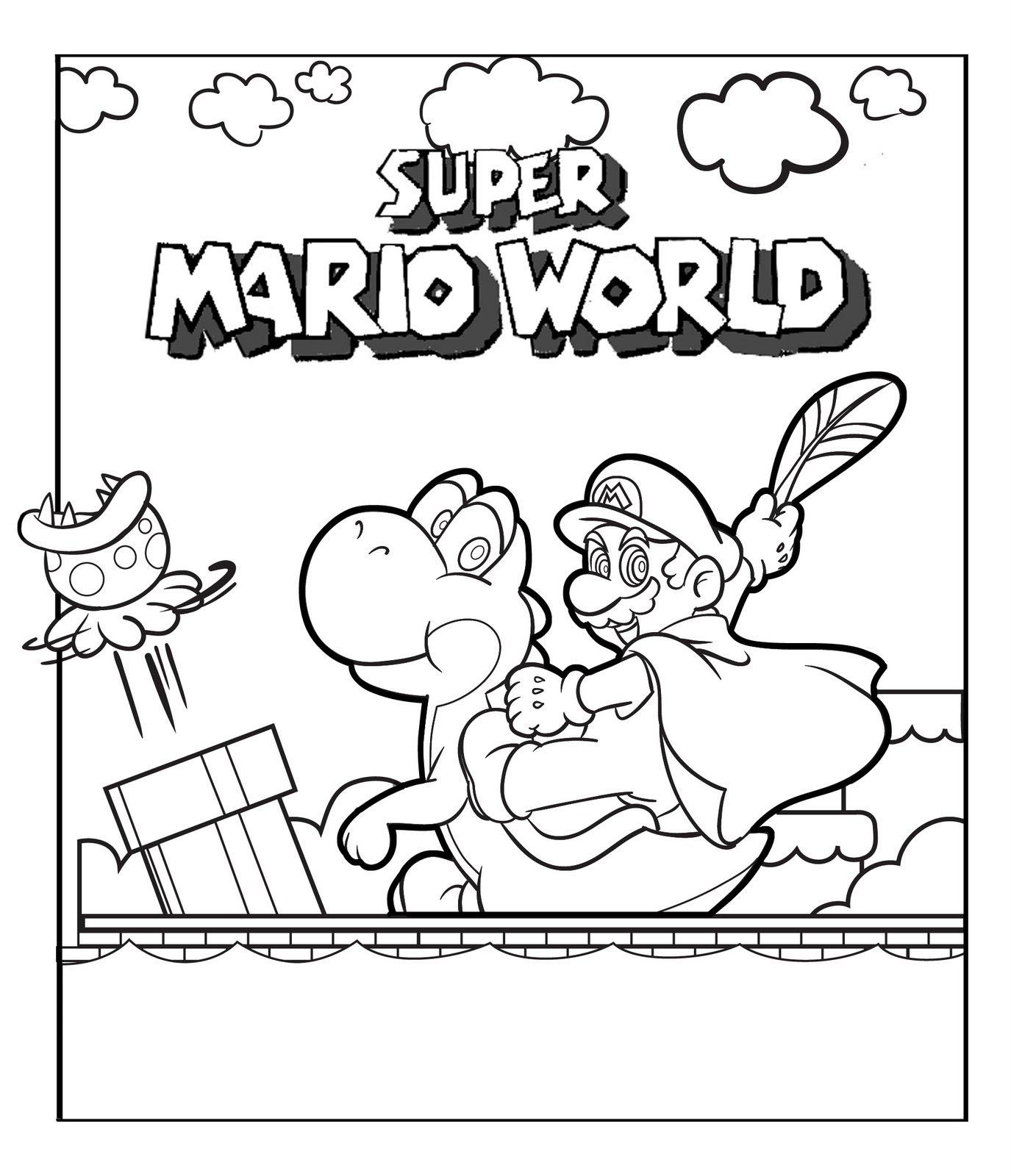 Colour Mario In