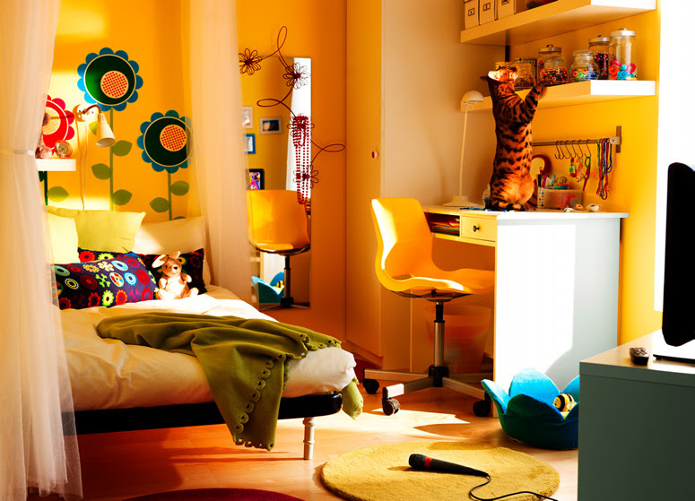 IKEA 2010 Teen and Kids Room Design Ideas | DigsDigs