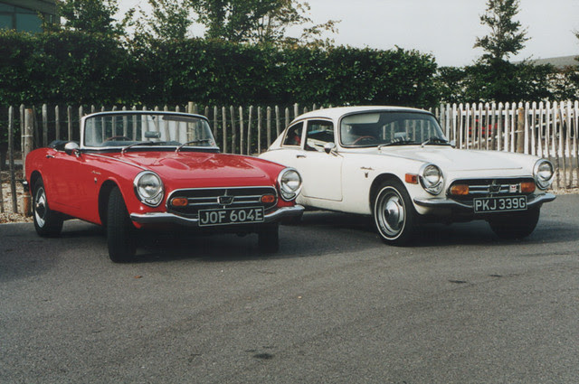 Honda S800 Convertible and Coupe