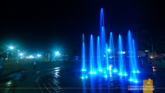 The Dancing Fountain at People's Park in Roxas City