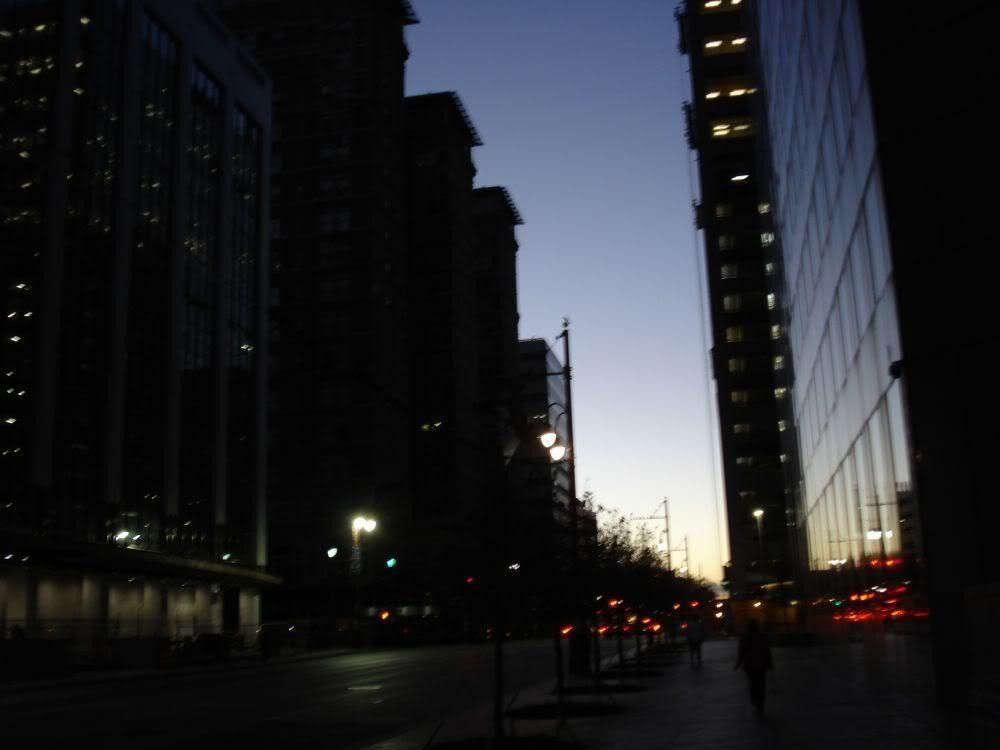 Rice Hotel at dawn