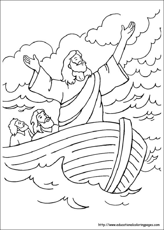 600 Coloring Pages Bible Stories Preschoolers Images & Pictures In HD
